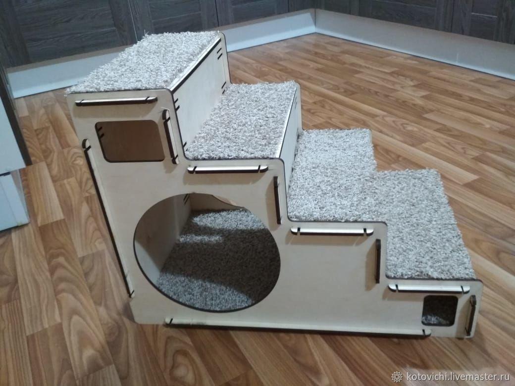 Лестница-домик для животных, Домик для питомца, Казань,  Фото №1
