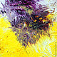 Абстракция ручной работы. Ярмарка Мастеров - ручная работа. Купить Абстрактная живопись. Equilibrium.. Handmade. Фиолетовый, радость, картина