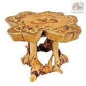 Для дома и интерьера ручной работы. Ярмарка Мастеров - ручная работа Журнальный столик из массива сосны. Handmade.