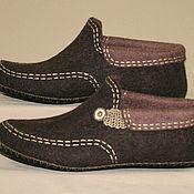 Обувь ручной работы handmade. Livemaster - original item Boots for home Solid man. Handmade.