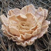 Украшения handmade. Livemaster - original item Brooch-flower. Handmade.