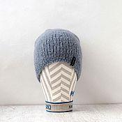 """Аксессуары ручной работы. Ярмарка Мастеров - ручная работа Шапка вязаная """"Гном-сд"""". Вязаная шапка. Шапка Family Look. Handmade."""