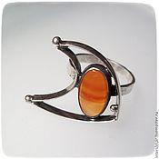 Украшения handmade. Livemaster - original item Ring with carnelian