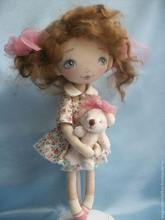 Коллекционные куклы ручной работы. Ярмарка Мастеров - ручная работа. Купить Кукла Малышка Уля. Handmade. Бежевый, кукла девочка