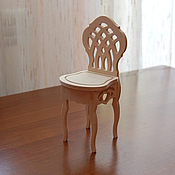Материалы для творчества handmade. Livemaster - original item Doll high chair.171.. Handmade.