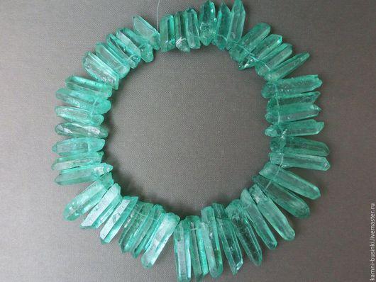 Кварц кристалл зеленый необработанные камни, самородок. Бусины голубого кварца для колье, кварц бусины для браслетов, кварц бусина шар для серег.
