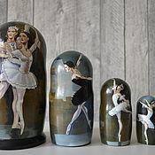 Русский стиль handmade. Livemaster - original item Dolls: Ballet. Handmade.
