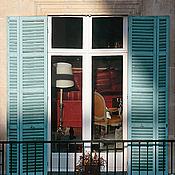 Картины и панно ручной работы. Ярмарка Мастеров - ручная работа Париж фото, Фотокартина Окно для интерьера гостиной. Handmade.