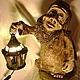 Освещение ручной работы. Гном с фонарем. Elena Sashina (Елена Сашина). Ярмарка Мастеров. Гном, светильники