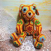 Куклы и игрушки handmade. Livemaster - original item Dog knitted Boyfriend. Handmade.