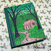 Канцелярские товары handmade. Livemaster - original item Diary House in the forest. Handmade.