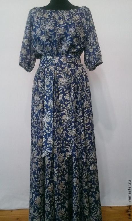Платья ручной работы. Ярмарка Мастеров - ручная работа. Купить Платье Belle epoque Хлопок 100%. Handmade. Платье