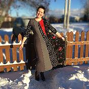 """Одежда ручной работы. Ярмарка Мастеров - ручная работа Трикотажное платье """"Дали"""". Handmade."""