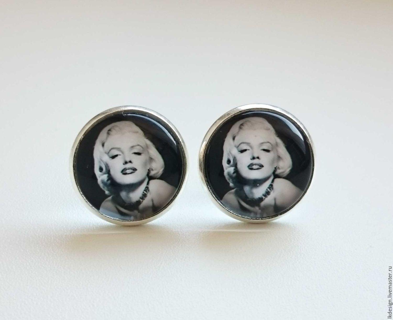 Earrings 'Marilyn Monroe', Earrings, Moscow,  Фото №1