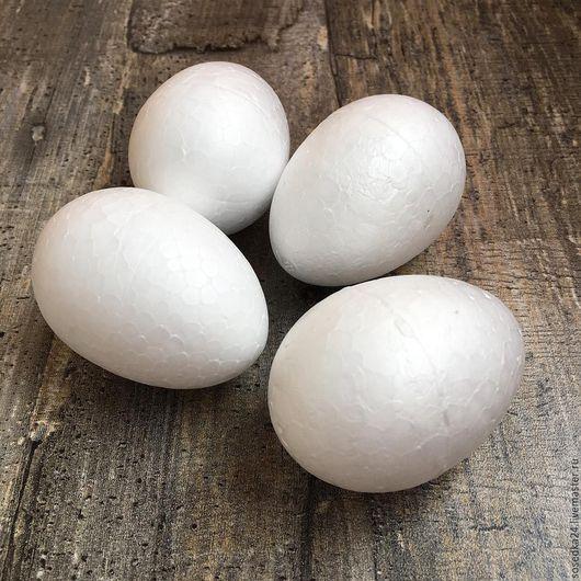 Декупаж и роспись ручной работы. Ярмарка Мастеров - ручная работа. Купить Яйца из пенопласта - размеры разные. Handmade. Белый