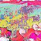 """Пейзаж ручной работы. """"Жаркое лето в Провансе"""" авторская картина маслом на холсте. ЯРКИЕ КАРТИНЫ Наталии Ширяевой. Ярмарка Мастеров."""
