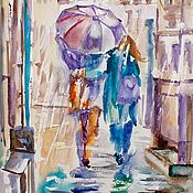 Картины и панно handmade. Livemaster - original item Colorful rain. Handmade.
