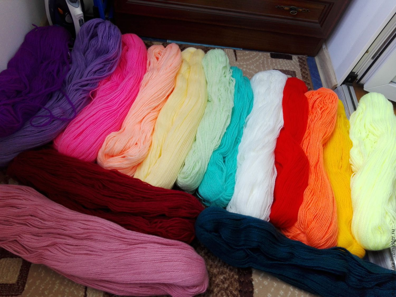 Где заказать пряжу для вязания дешево 43