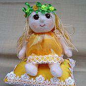 Куклы и игрушки ручной работы. Ярмарка Мастеров - ручная работа мягкая кукла Принцесса. Handmade.