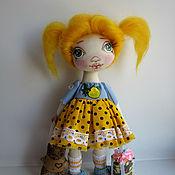 Куклы и игрушки ручной работы. Ярмарка Мастеров - ручная работа Какла интерьерная текстильная.. Handmade.