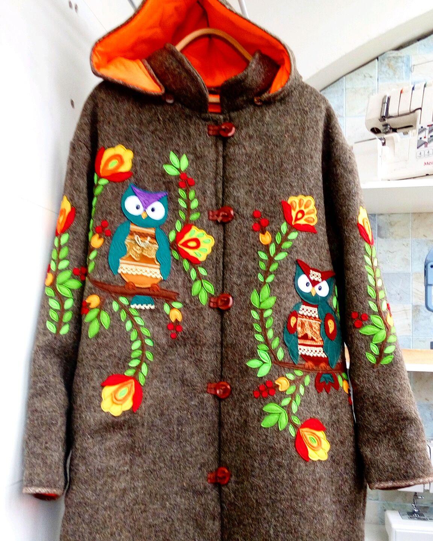 El abrigo de la crisálida de la lana de los Rusos de los patrones', Coats, Stupino,  Фото №1