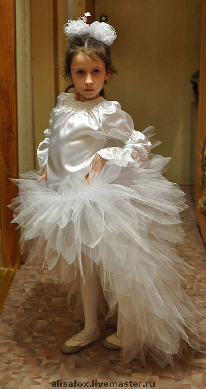 Как сшить юбку из фатина со шлейфом мастер класс