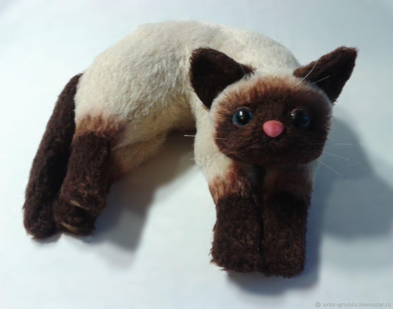 Siamese cat, Stuffed Toys, Nevinnomyssk,  Фото №1
