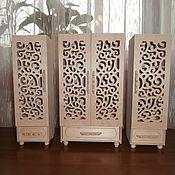 Куклы и игрушки handmade. Livemaster - original item Furniture (Cabinet 384 and 2 canister). Handmade.