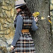 Одежда ручной работы. Ярмарка Мастеров - ручная работа шерстяное пальто-транформер. Handmade.