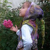 Одежда handmade. Livemaster - original item Children`s felted vest