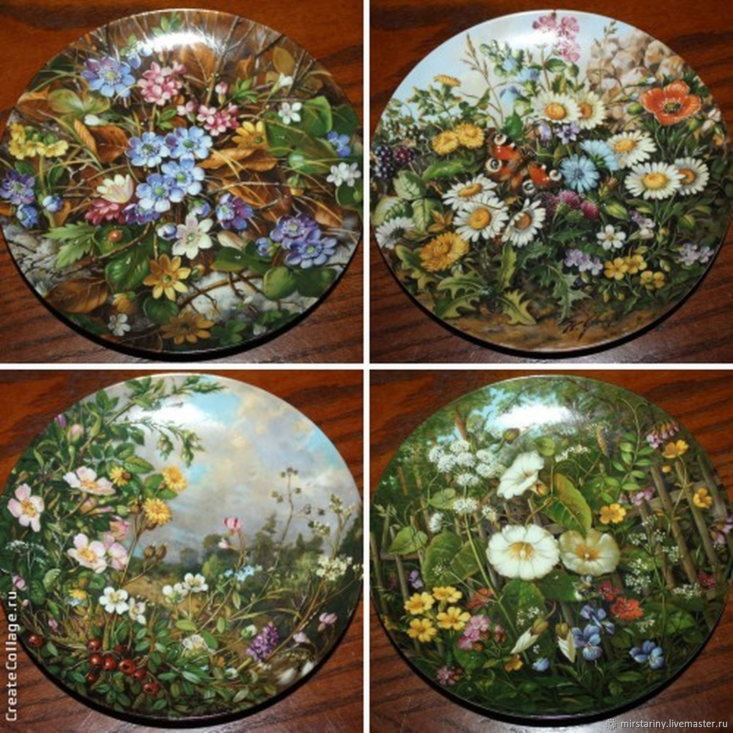 More Collectible Plates Wild Beauty Furstenberg Shop Online On