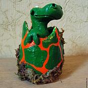 Куклы и игрушки ручной работы. Ярмарка Мастеров - ручная работа Дракончик в яйце - новорожденный. Handmade.