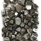 Материалы для творчества handmade. Livemaster - original item Pyrite ( crystals and aggregates ), Peru ( Wanzala). Handmade.