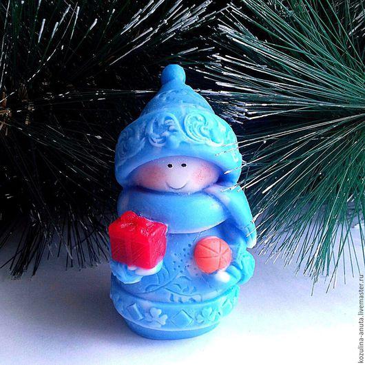 Мыло ручной работы. Ярмарка Мастеров - ручная работа. Купить Мыло снеговичок. Handmade. Комбинированный, Новый Год, снеговичок