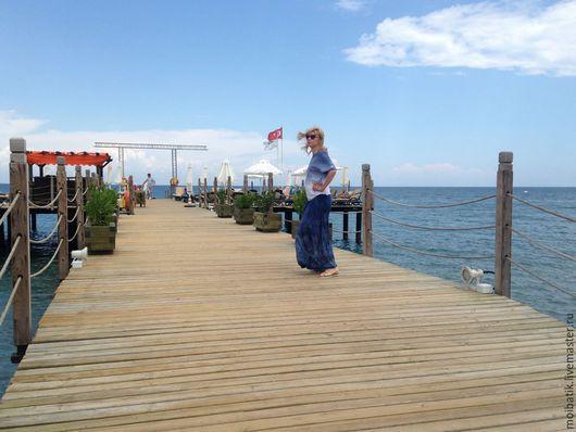 """Пляжные платья ручной работы. Ярмарка Мастеров - ручная работа. Купить одежда для отдыха """"море, пальмы и песок"""". Handmade."""