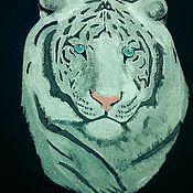Одежда ручной работы. Ярмарка Мастеров - ручная работа Белый тигр. Handmade.