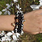 Украшения handmade. Livemaster - original item Set of bracelets made of Brazilian agate. Handmade.