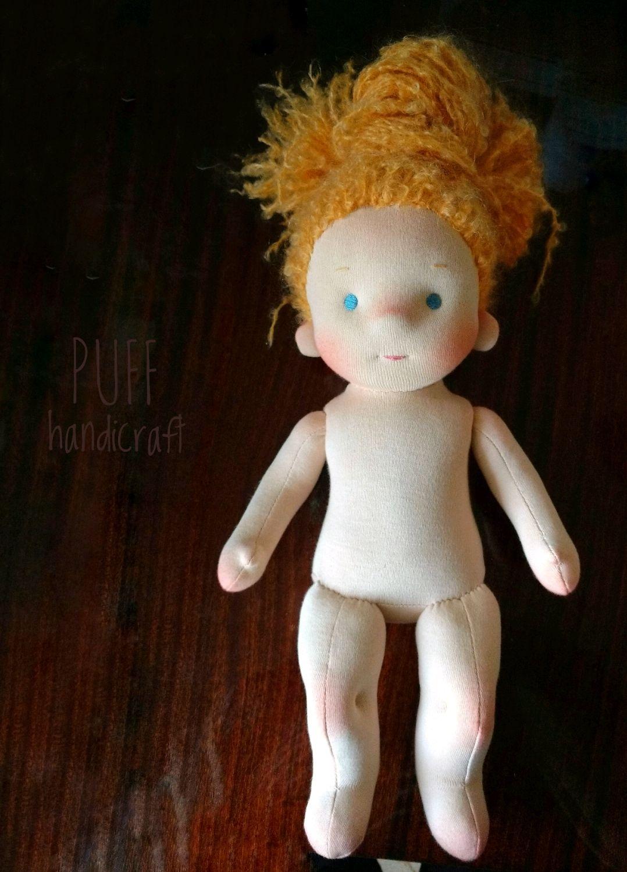 Игровая кукла без одежды, Вальдорфские куклы и звери, Одесса,  Фото №1