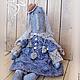 Куклы и игрушки ручной работы. Ярмарка Мастеров - ручная работа. Купить кукла Магда. Handmade. Серый, ракушки морские