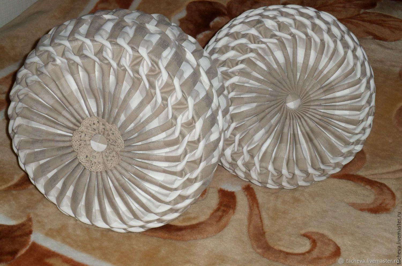 Set interior linen pillows, Pillow, Ivanovo,  Фото №1