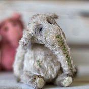 Куклы и игрушки ручной работы. Ярмарка Мастеров - ручная работа Слоник тедди Тиль. Handmade.