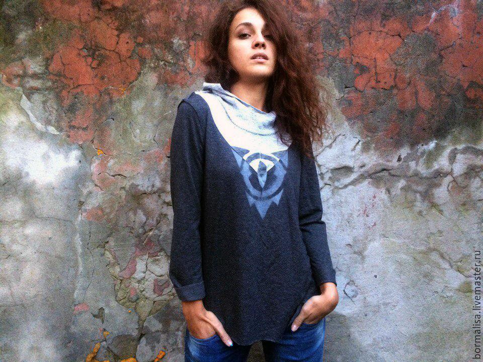 Jumper 'Shades of grey', Sweater Jackets, Ivanovo,  Фото №1