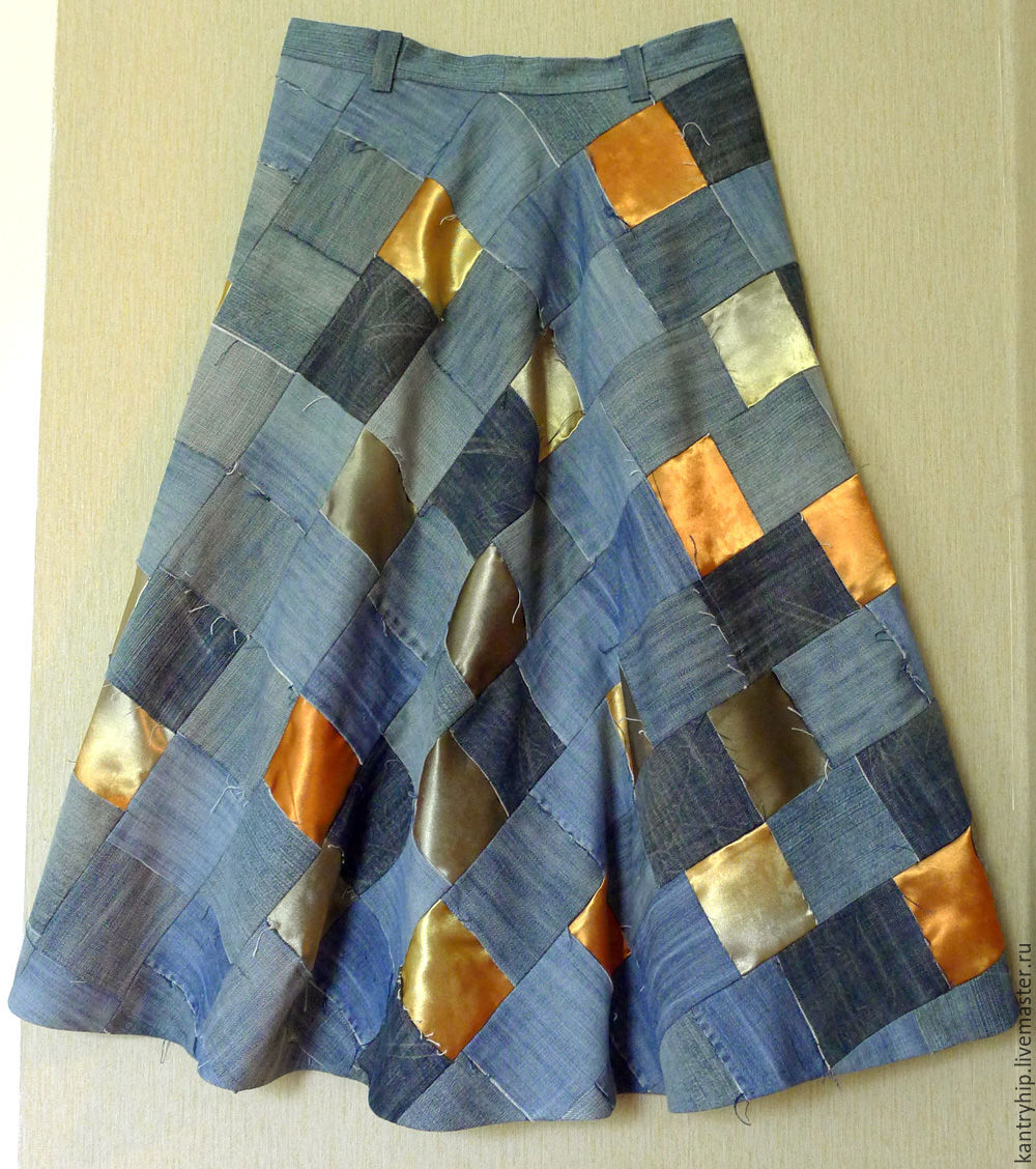 Лоскутную юбку купить в