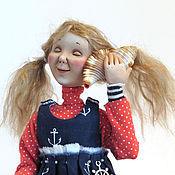 Куклы и игрушки ручной работы. Ярмарка Мастеров - ручная работа Авторская кукла. Море внутри.. Handmade.