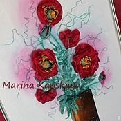 Картины и панно ручной работы. Ярмарка Мастеров - ручная работа Опиум. Handmade.