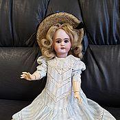 Куклы и игрушки ручной работы. Ярмарка Мастеров - ручная работа Антикварная французская кукла  Jumeau DEP. Handmade.