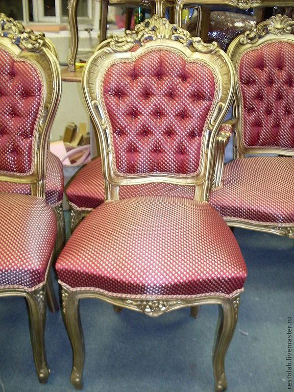 Мастер классы по реставрации стульев 207