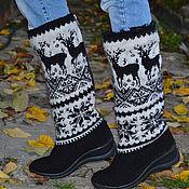 """Обувь ручной работы. Ярмарка Мастеров - ручная работа сапожки """"север"""" зимние. Handmade."""