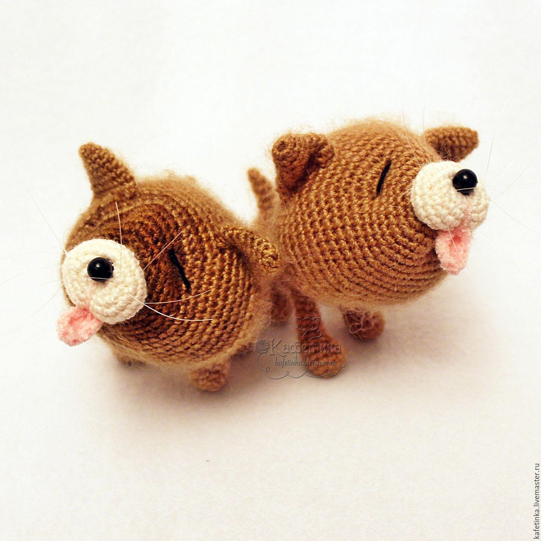 Kittens Pisculichi. Hook. Handmade toys. Hope (Cavatina)