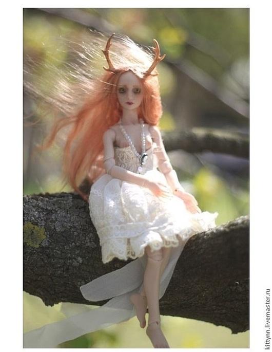 Коллекционные куклы ручной работы. Ярмарка Мастеров - ручная работа. Купить Вероника. Handmade. Рыжий, бжд, кукла в подарок